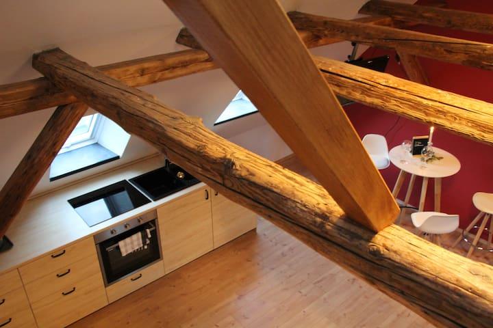 Gemütliches, neu renoviertes Dachapartment