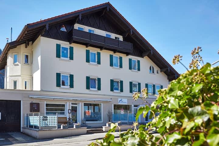 Familienfreundliche Wohnung in Oberammergau für 6P