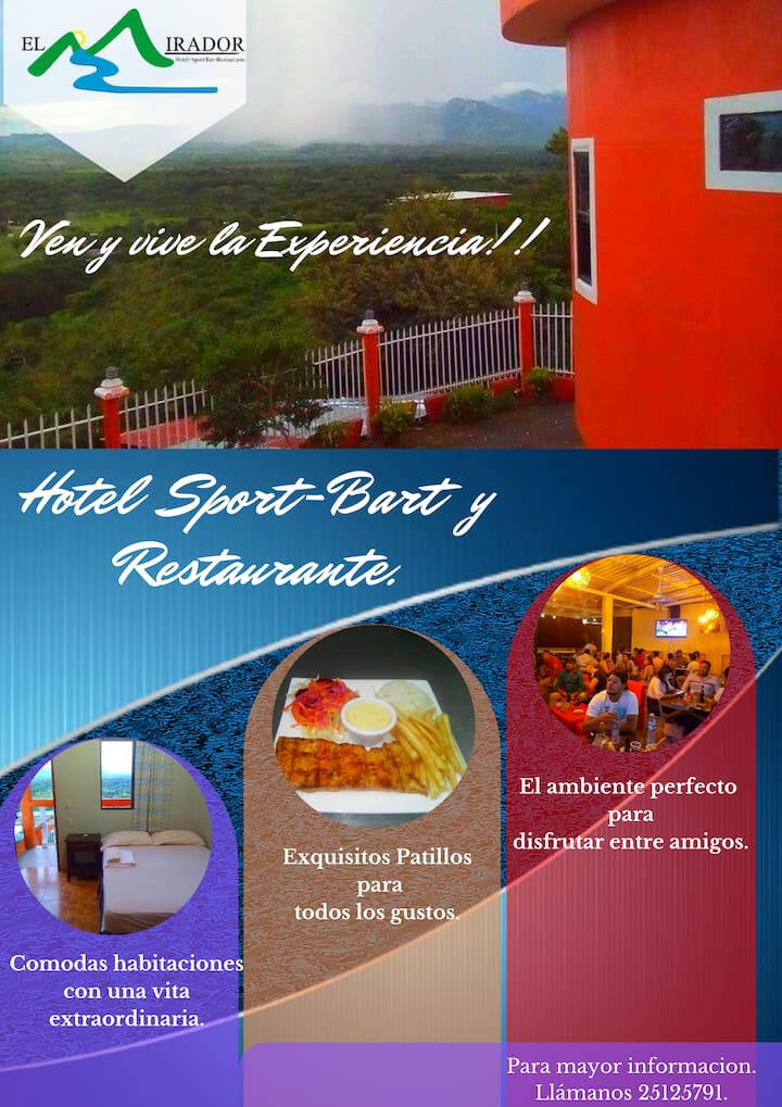 Hotel y Restaurante El Mirador,Vive la Experiencia