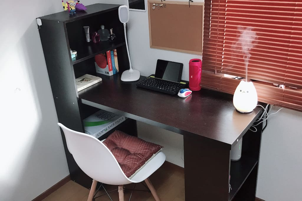comfortable working space