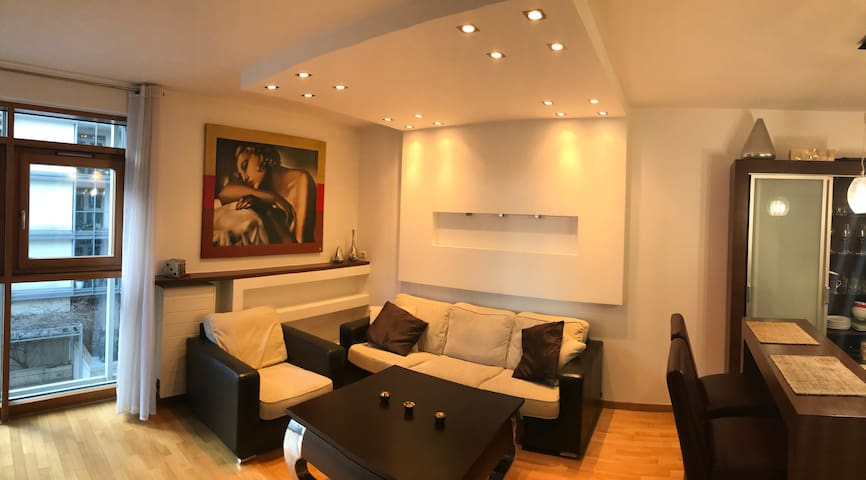 Apartment located in a gated area in the city