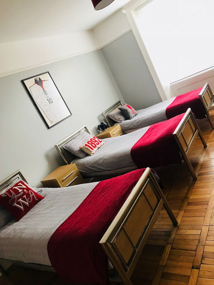 Room 4, The Anfield B&B, 100 yds from LFC