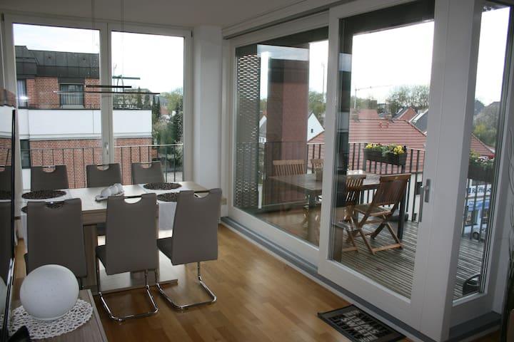 Freundliches Zimmer in 4-Zi-Wohnung - Landshut - Apartamento