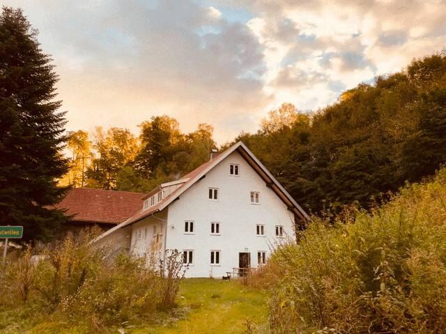Stilvolle moderne  Wohnung in antiken Bauernhof