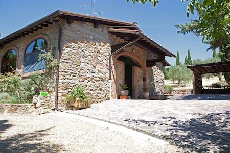 las cicas stonecottage florencehill - San Jacopo Al Girone - Blockhütte