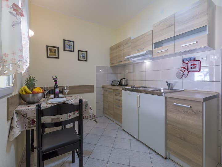 One bedroom, seaside in Crikvenica, Balcony