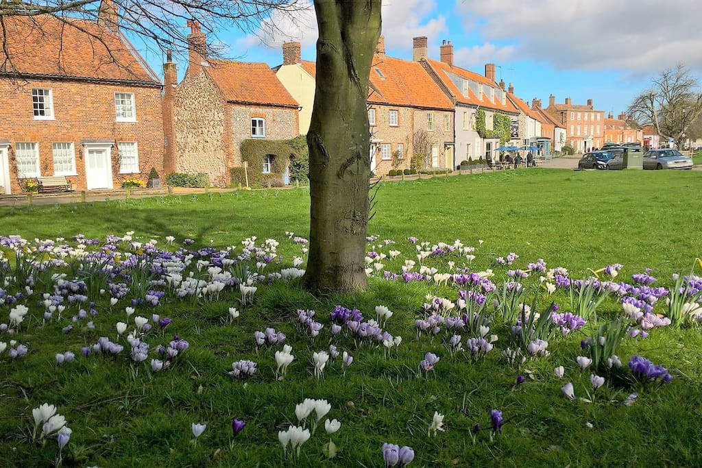 Spring has arrived in Burnham Market