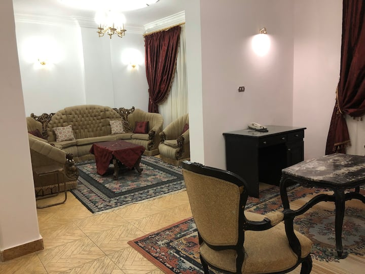 An excellent located full furnished apartment