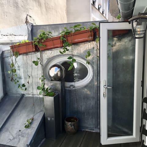 Appartement romantique avec terrasse Montmartre