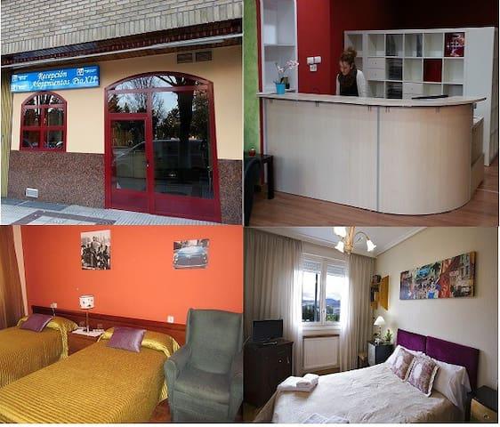 ALOJAMIENTOS OLGA EN PAMPLONA  - Pamplona - Appartement