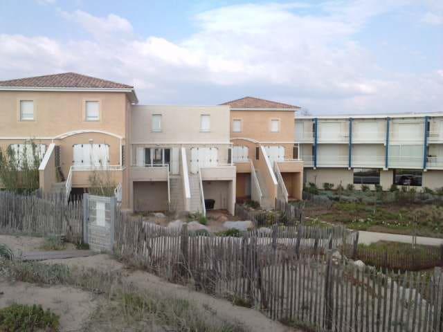 Maison T3 avec accès direct plage
