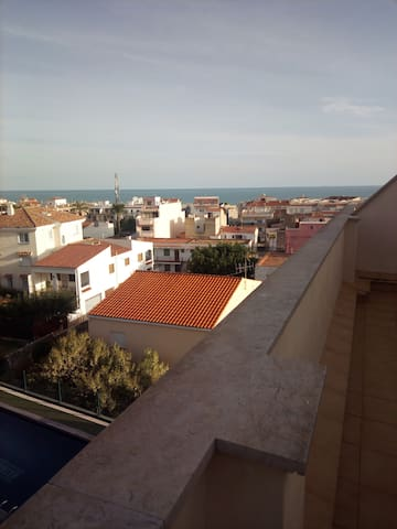 Bonito Ático. Urbanización cerca del mar - Alcalà de Xivert - Pis