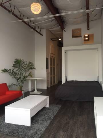 Waterfront, Studio, Large Deck #5