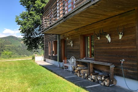 studio in an idyllic weekend house in the forest