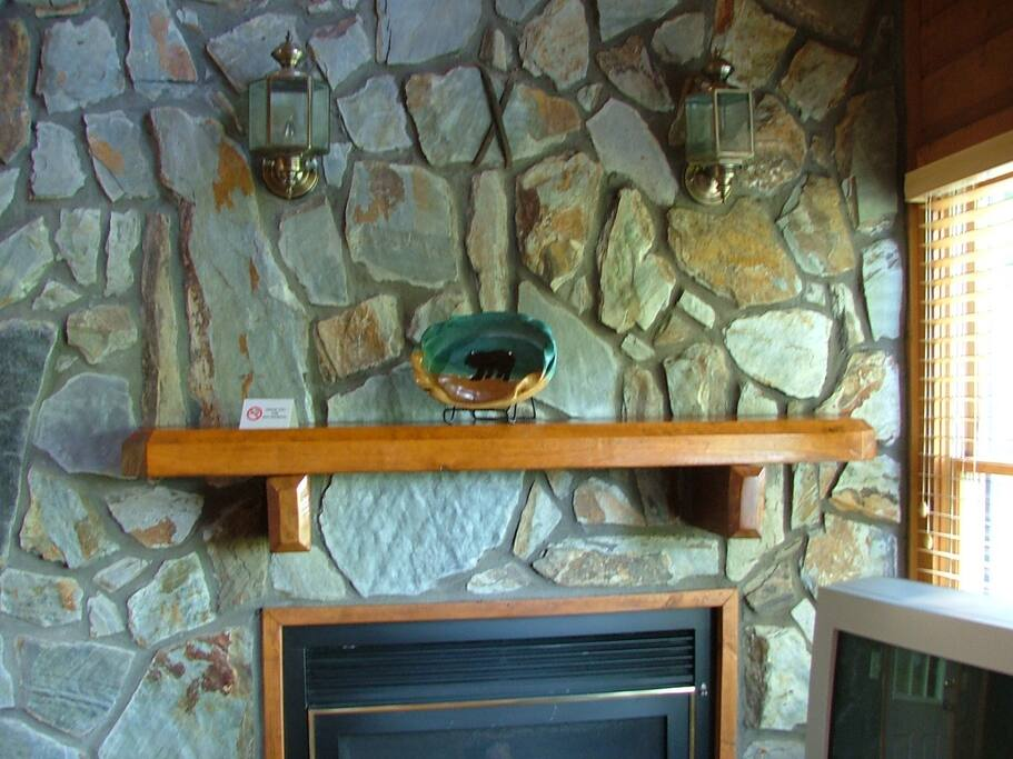 Tomahawk Fireplace