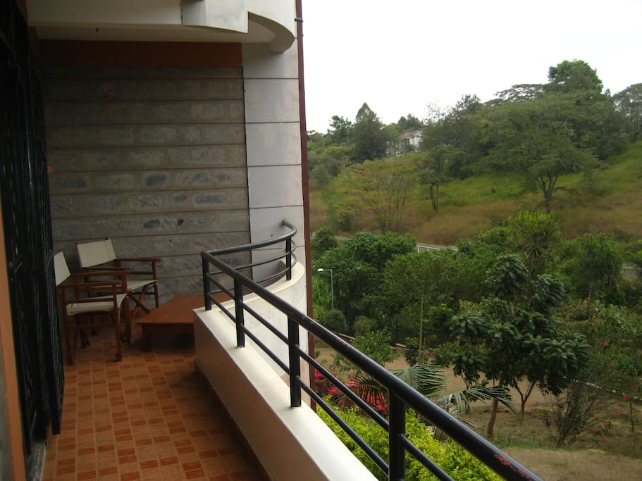 Perfect balconies with great views of Kirichwa River and Statehouse Grounds!
