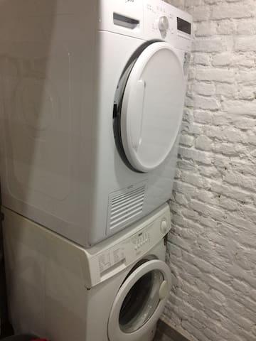 Washing machine & Dry (free)