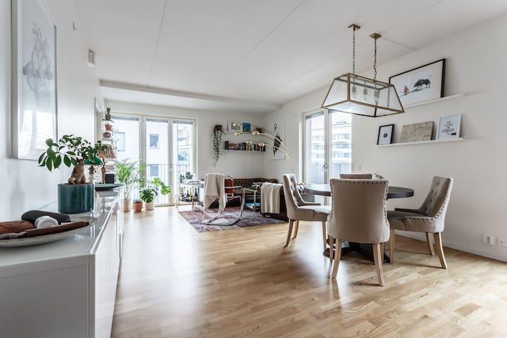 Double balcony design apartment