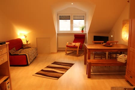 Comfortable attic flat in familyhouse - Freising