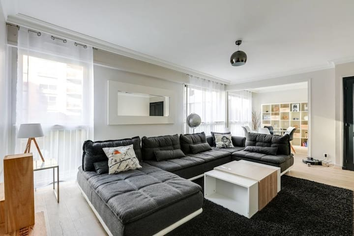 Spacious apartment in the heart of Toulouse
