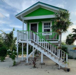 Secret Beach Green Cabana @ Paradise on the Caye