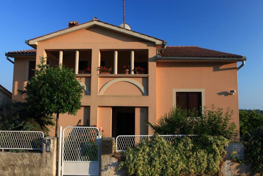 Villa Bartol - front view