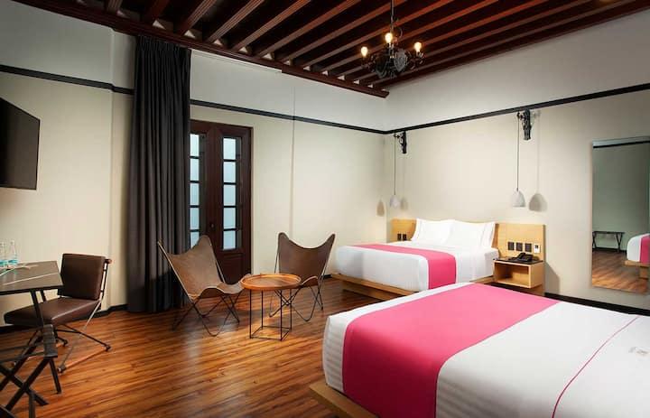 Habitación con Cocina Hotel en el Zócalo