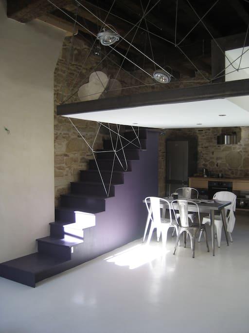 Appartement-Loft Centre historique