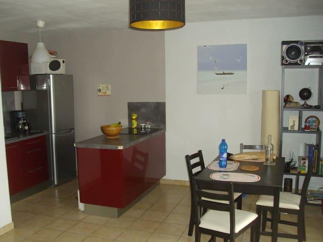 Appartement avec Balcon, cave pour vélo et parking - Chalonnes-sur-Loire - Leilighet