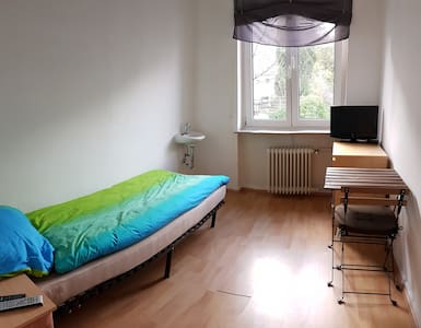 8m² room with LED-TV + free Wifi - Wuppertal