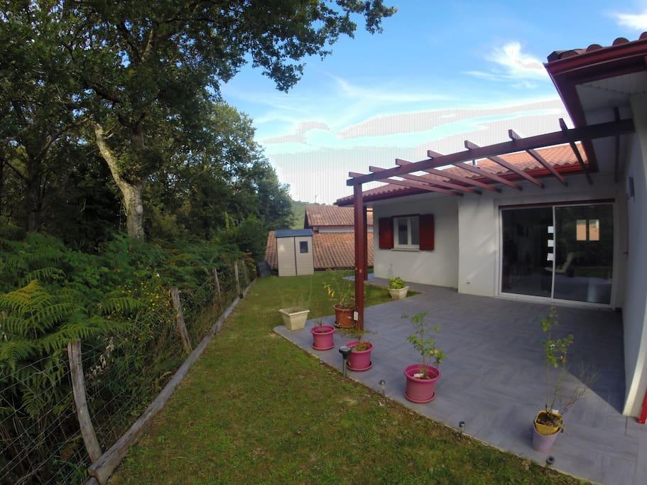 Maison de 97 m² au calme en bordure de forêt, 2 terrasses vous attendent !!!