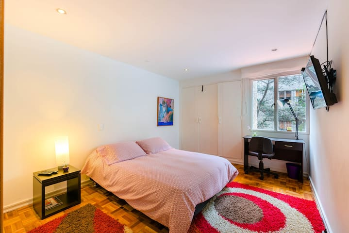 Nice room, best location and private restroom! - Bogotá - Wohnung
