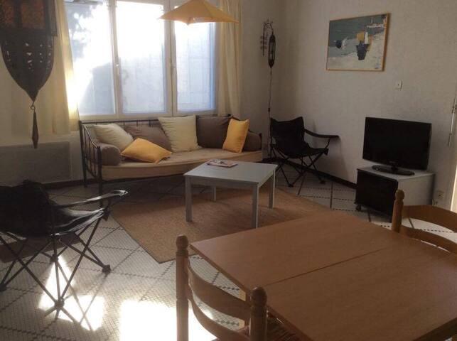 Agréable maison avec patio - Oléron - Le Grand-Village-Plage - Dom