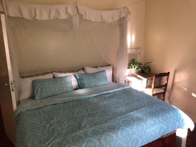 Mandhari House - The Fern Room Double en suite