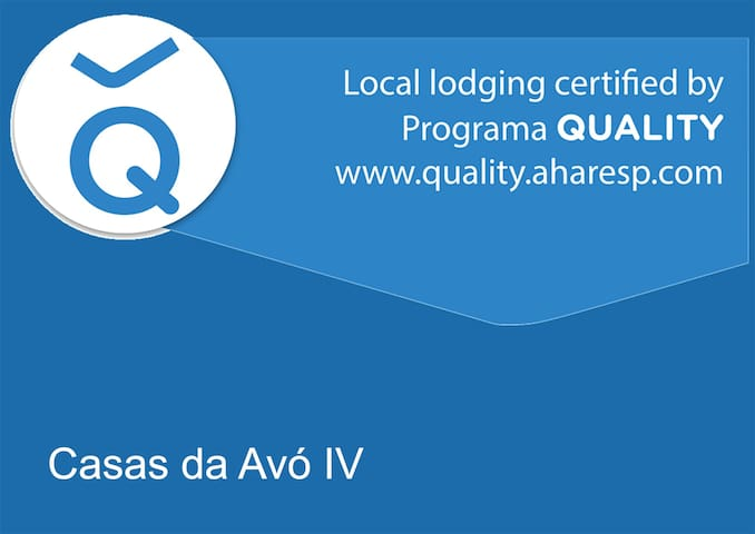 Qualidade do alojamento reconhecido pela AHARESP.