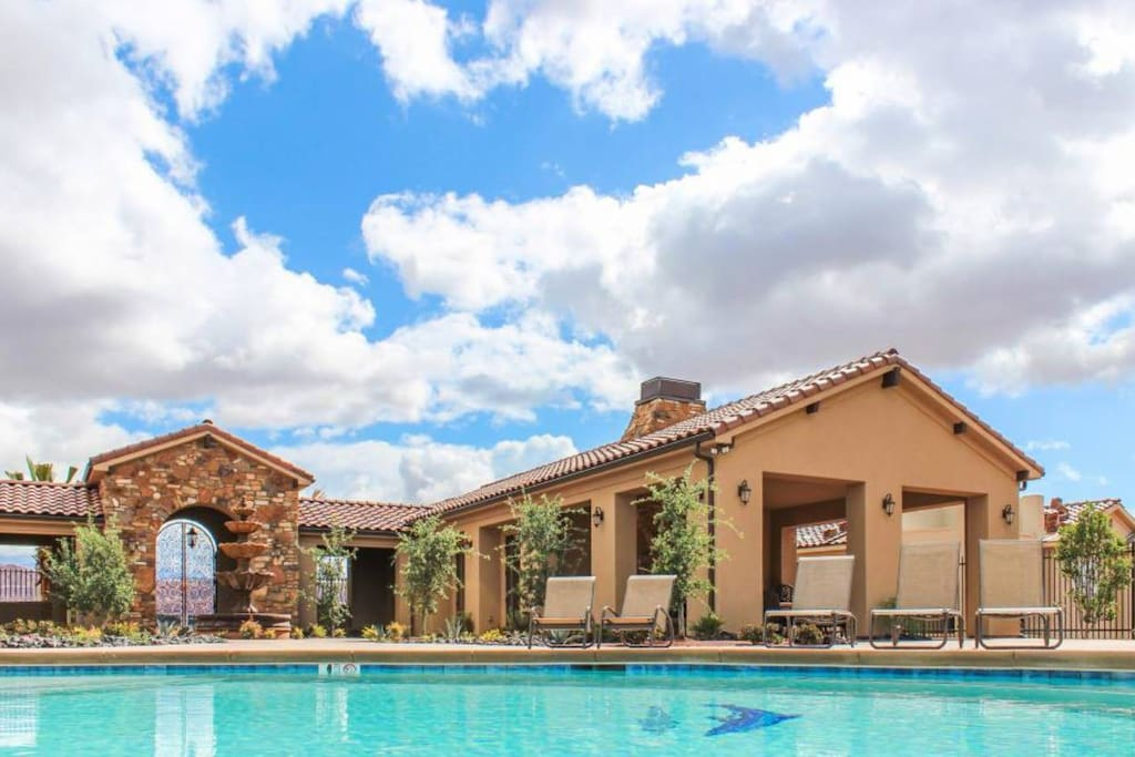 Enjoy full access to the beautiful pools and clubhouse amenities