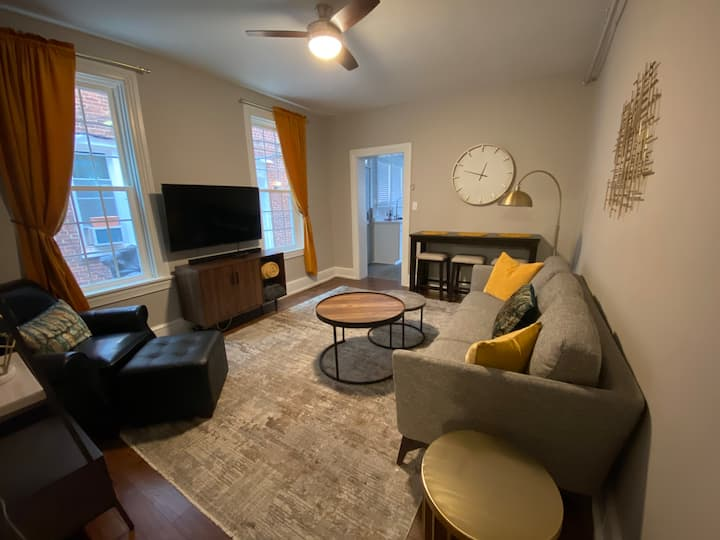 Downtown York City 2br charmer, private, parking