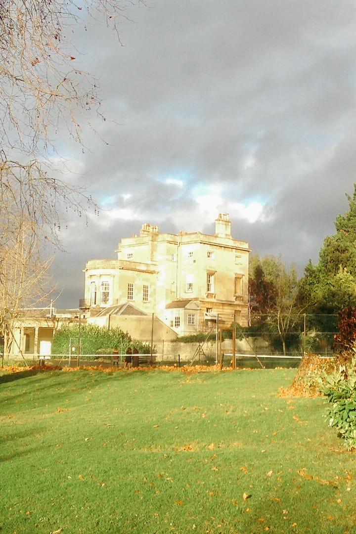Sydney Gardens where Jane Austen walked