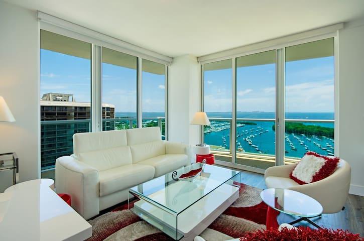 STUNNING 2BD/2.5BA @ HOTEL ARYA - DIRECT BAY VIEWS