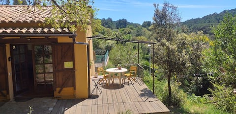 Cottage  in Begur, Costa Brava, ideal for couples.