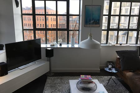 Bright, Modern NQ apt, comfy bedroom - Manchester - Apartment