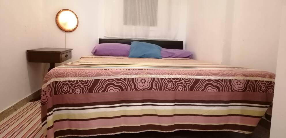 Céntrica y Fresca habitación doble