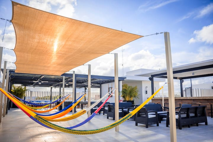 Hostel & Beach Club Agua y Fuego - Male 6 beds