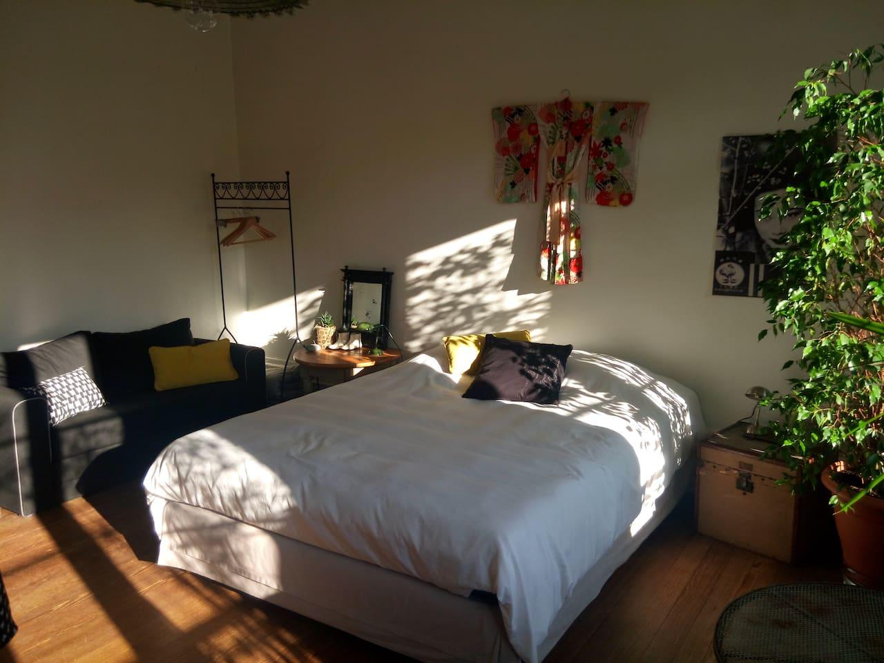 chambre confortable  de 20 m2