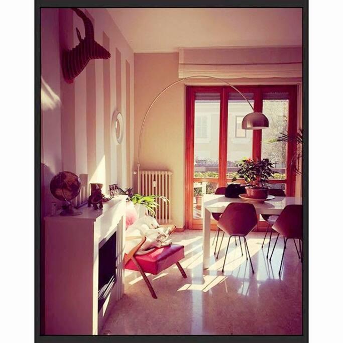spazi comuni, soggiorno