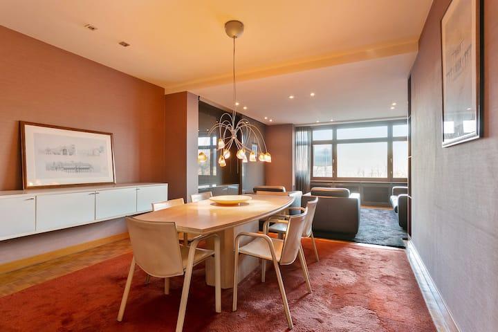 Luxueus 1 slpk appartement in Hartje Antwerpen