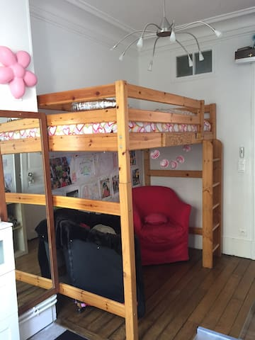 Belle chambre dans appartement  au centre de paris