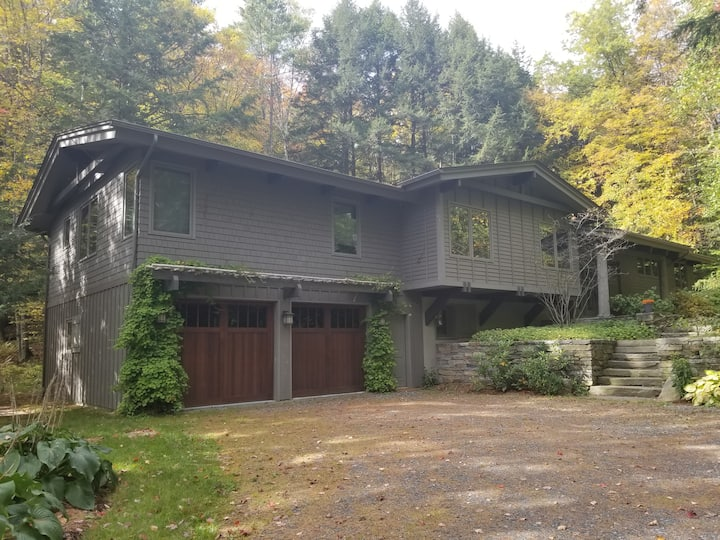 Stunning five bedroom, 4.5 bath home nestled in the Vermont Hills.