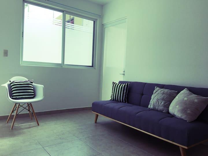 #1 Lindo y cómodo departamento.Ubicación céntrica!
