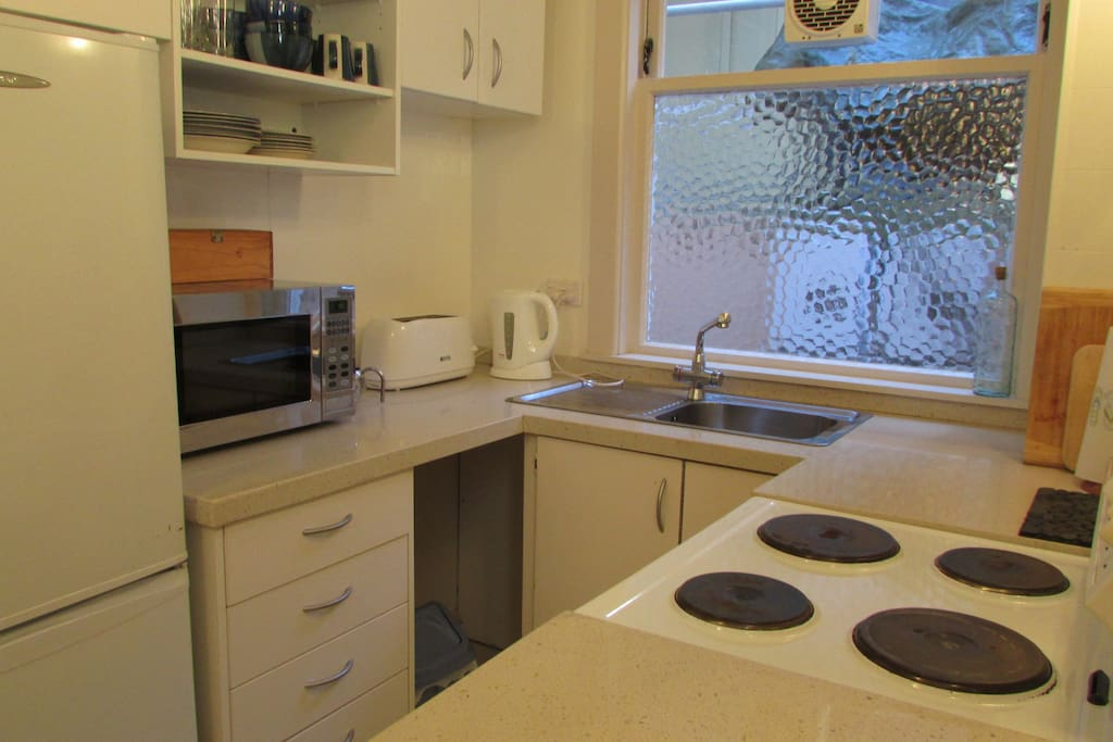 Compact and efficient kitchen
